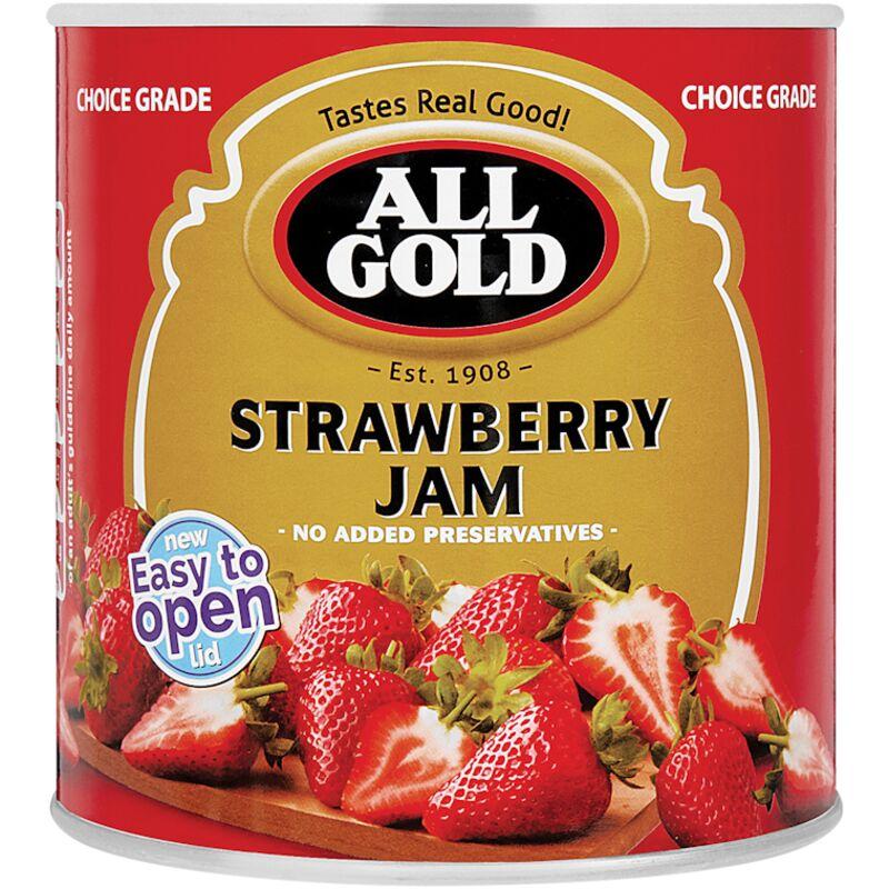 ALL GOLD JAM STRAWBERRY – 900G