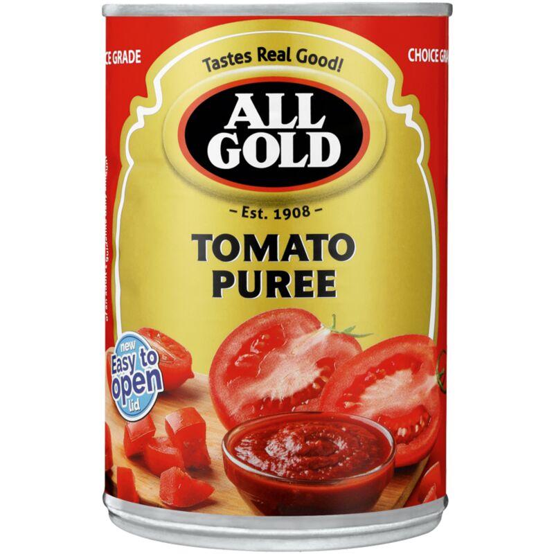 ALL GOLD TOMATO PUREE – 410G