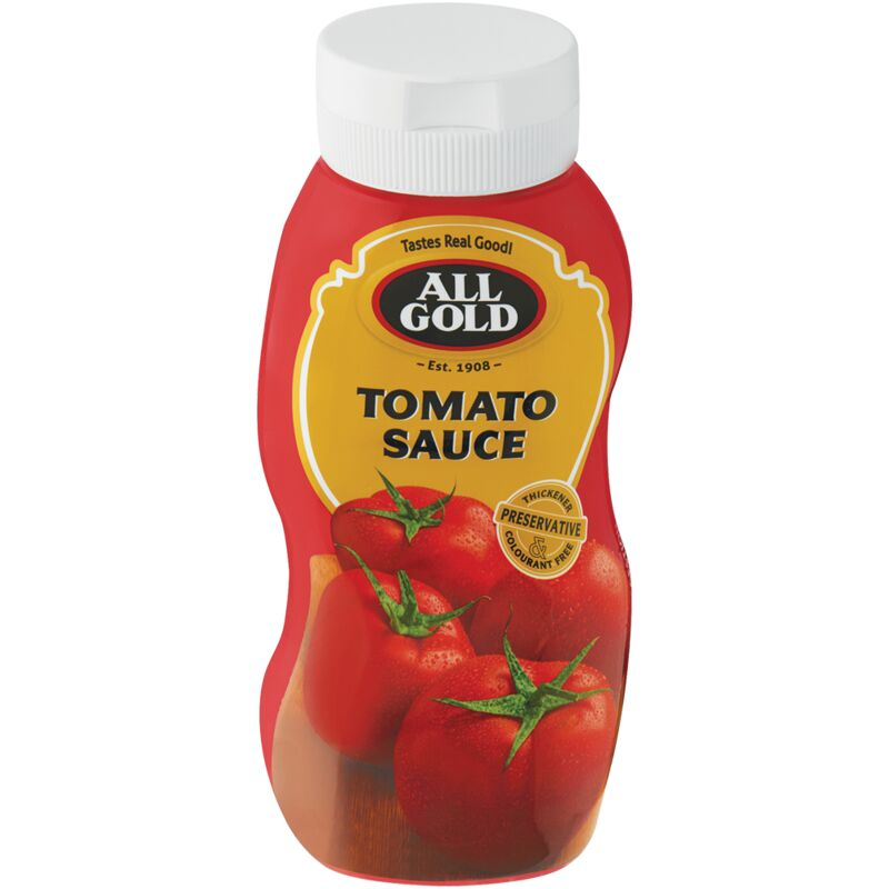 ALL GOLD SQUEEZE TOMATO SAUCE – 500ML