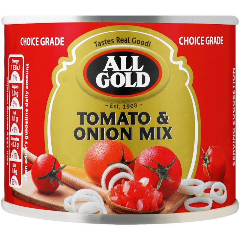 ALL GOLD TOMATO & ONION MIX – 215G