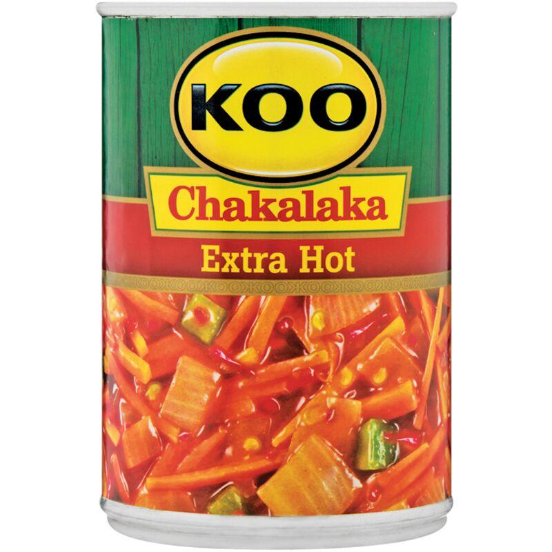 KOO CHAKALAKA EXTRA HOT – 410G