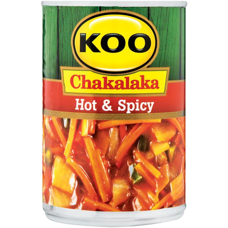 KOO CHAKALAKA HOT & SPICY – 410G