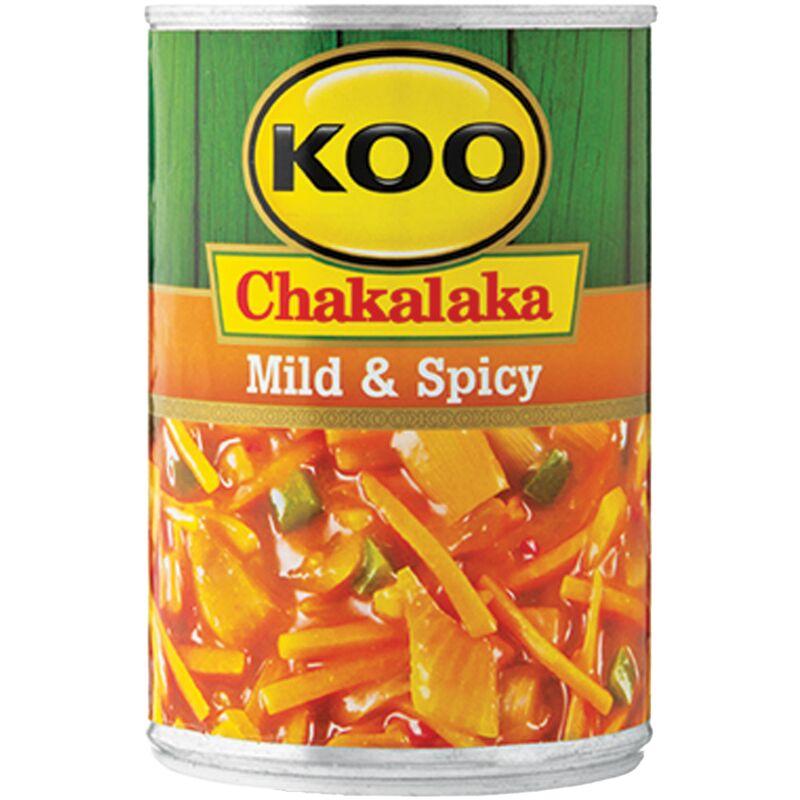 KOO CHAKALAKA MILD & SPICY – 410G