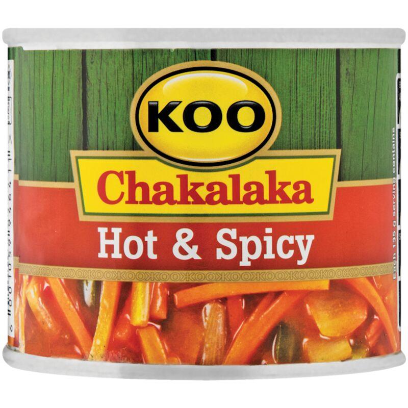 KOO CHAKALAKA HOT & SPICY – 215G