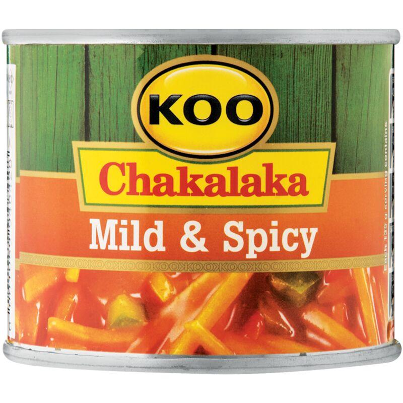 KOO CHAKALAKA MILD & SPICY – 215G