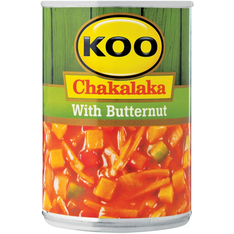 KOO CHAKALAKA WITH BUTTERNUT – 410G