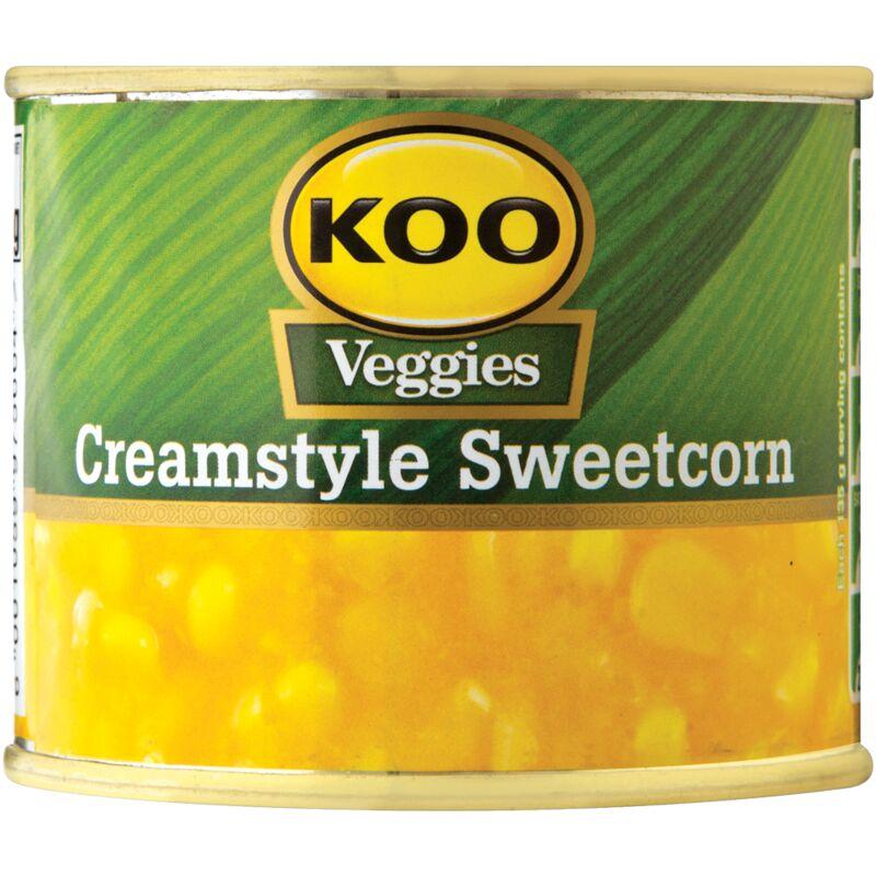 KOO SWEETCORN CREAM STYLE – 215G