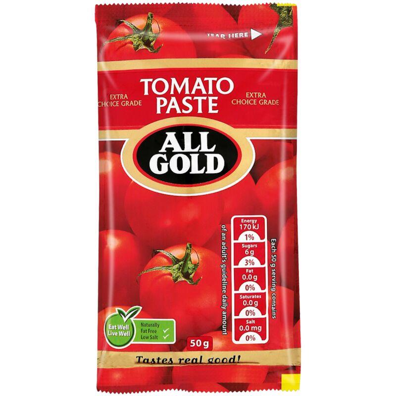 ALL GOLD TOMATO PASTE SACHET – 50G