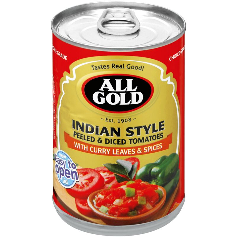 ALL GOLD DICED TOMATO INDIAN STYLE – 410G