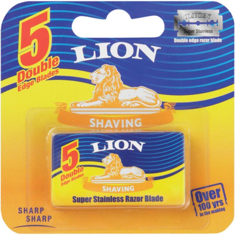 LION RAZOR CARTRIDGE BLADES – 5S