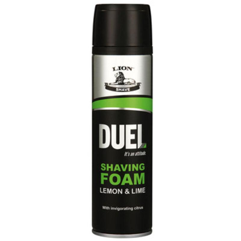 DUEL LEMON & LIME SHAVING FOAM – 200ML