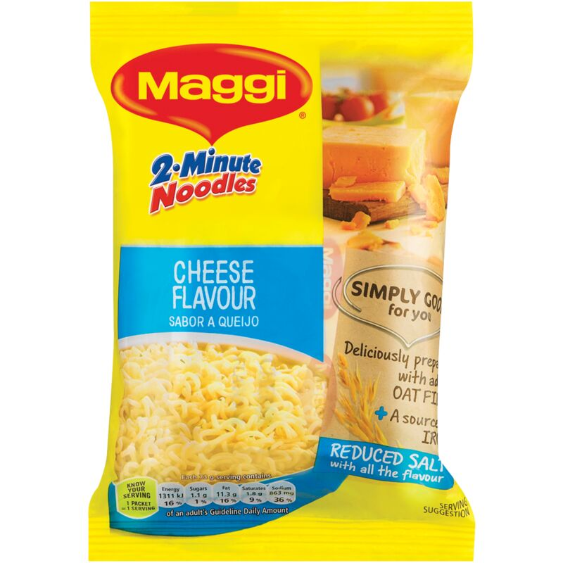 MAGGI 2 MINUTE NOODLES CHEESE – 73G