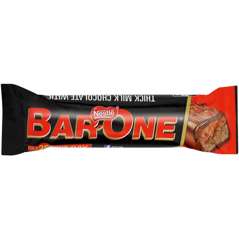 NESTLE BAR ONE CHOCOLATE – 55G