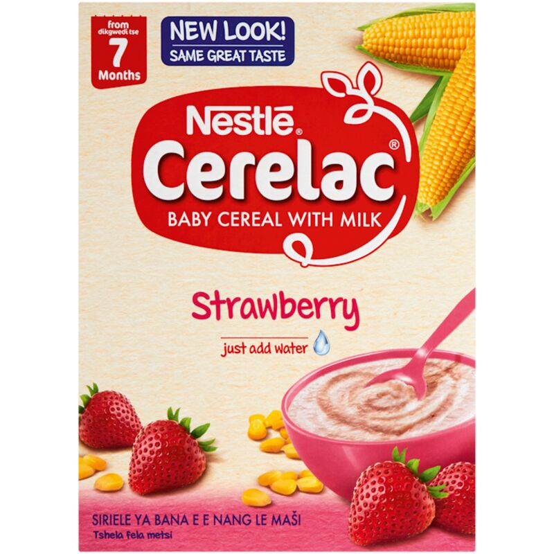 CERELAC STRAWBERRY PROBIO CEREAL STAGE 2 – 250G