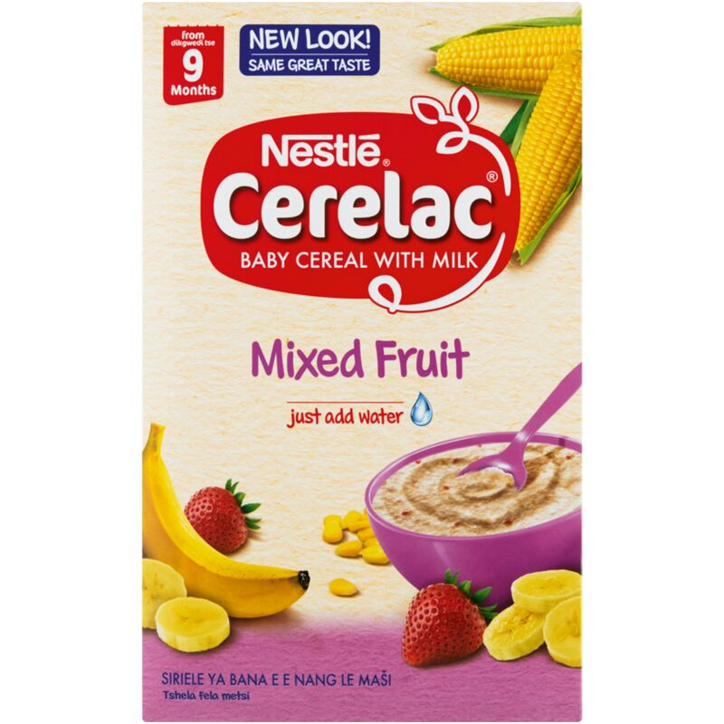 CERELAC MIXED FRUIT CEREAL STAGE 3 – 500G