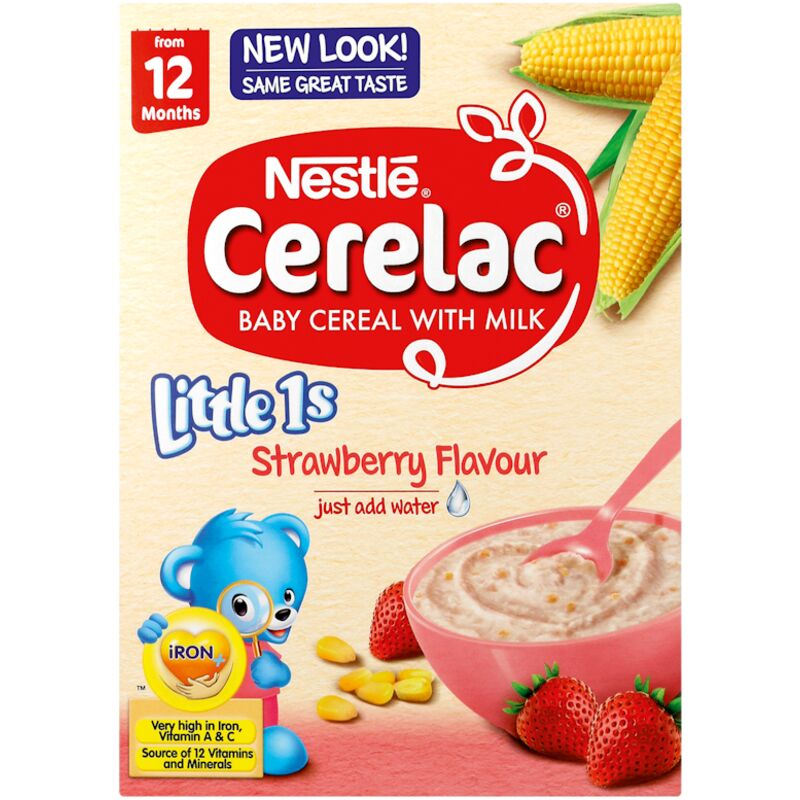 CERELAC STRAWBERRY CEREAL STAGE 4 – 250G