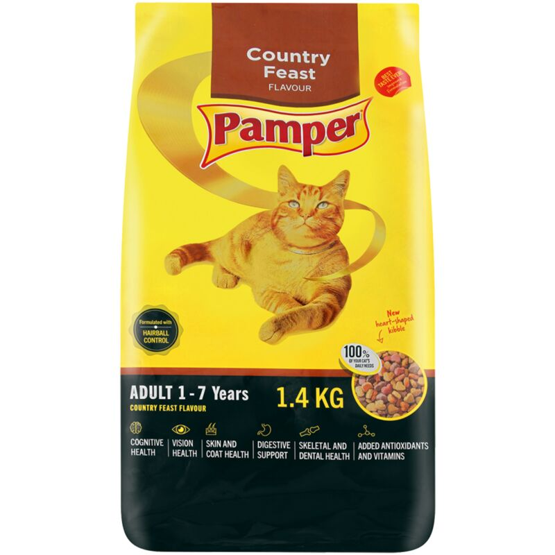 PAMPER COUNTRY FEAST – 1.4KG