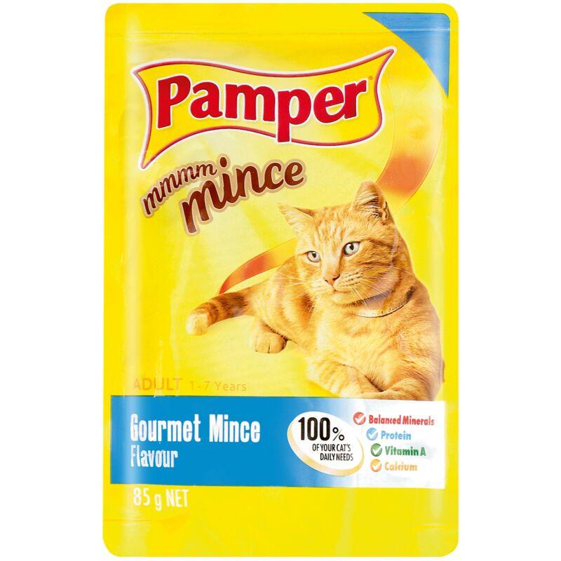 PAMPER FINE CUTS MINCE GOURMET – 85G