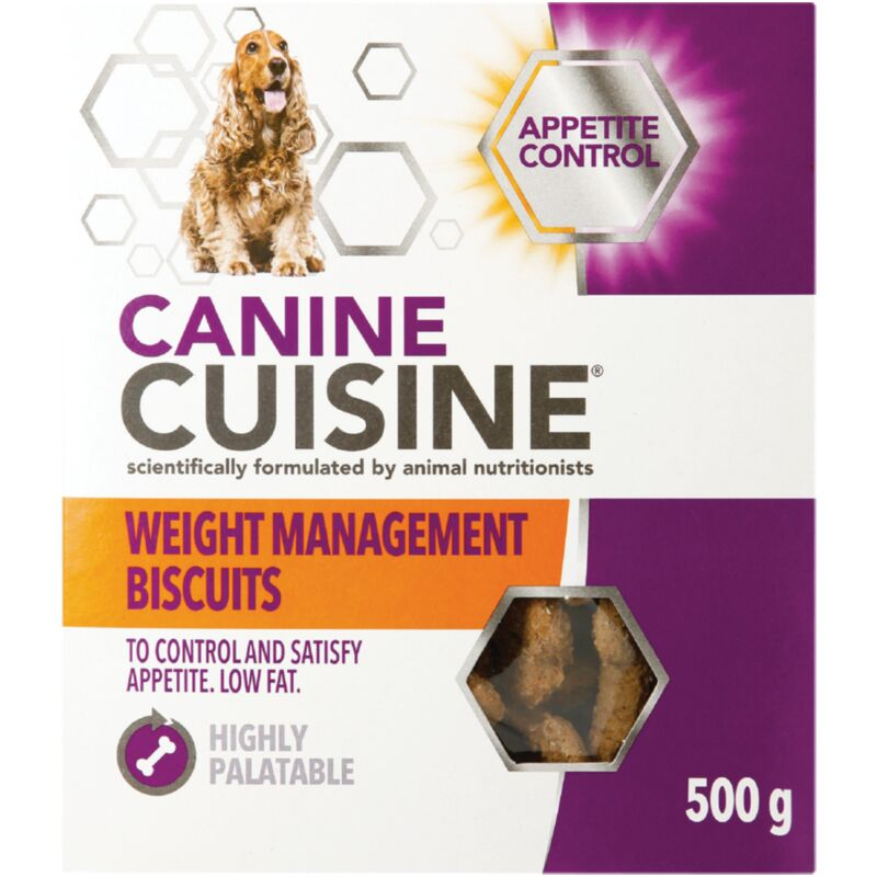 CANINE CUISINE BISCUITS WEIGHT MAN – 500G
