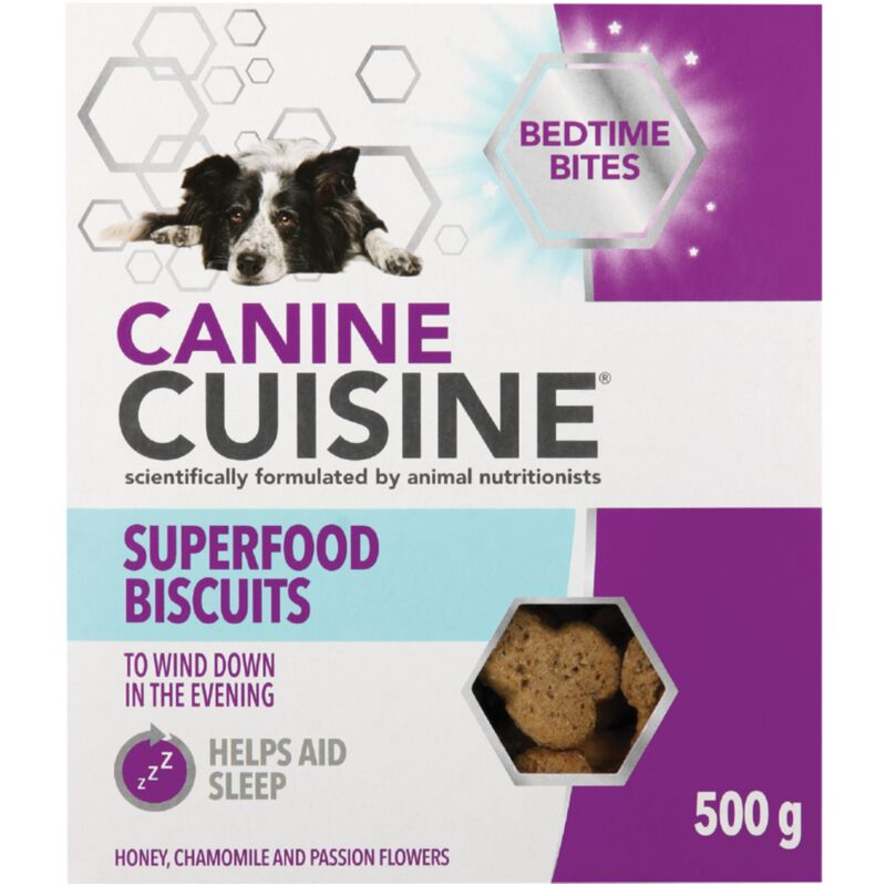 CANINE CUISINE BISCUITS BETIME BITES – 500G