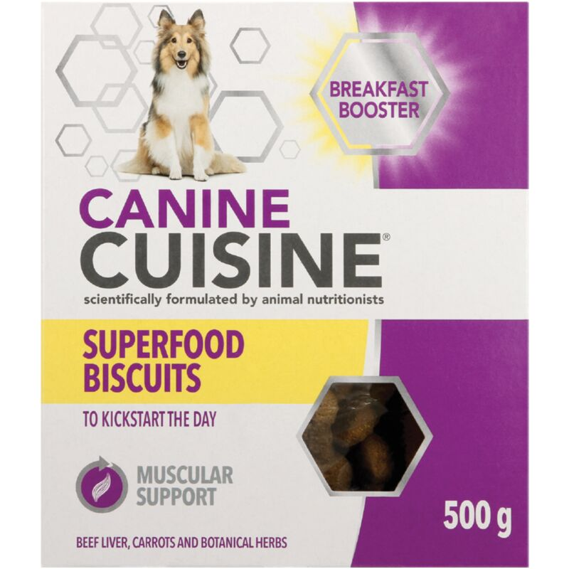 CANINE CUISINE BISCUITS BREAKFAST – 500G