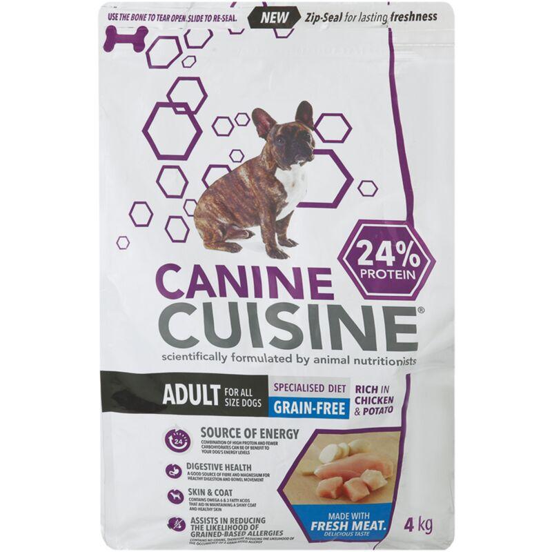 CANINE CUISINE GRAIN FREE CHICKEN AND POTATO – 4KG