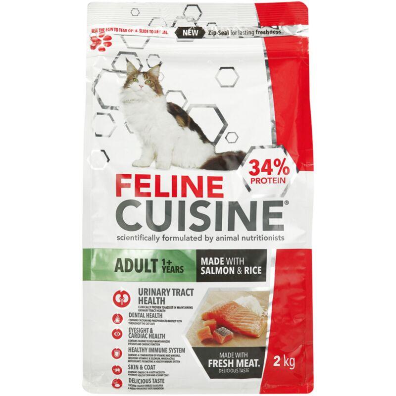 FELINE CUISINE ADULT SALMON AND RICE – 2KG