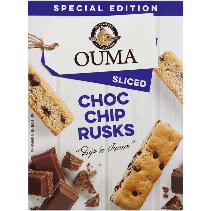 OUMA RUSKS CHOC CHIP – 450G