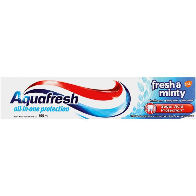 AQUAFRESH TOOTHPASTE FRESH & MINTY – 100ML