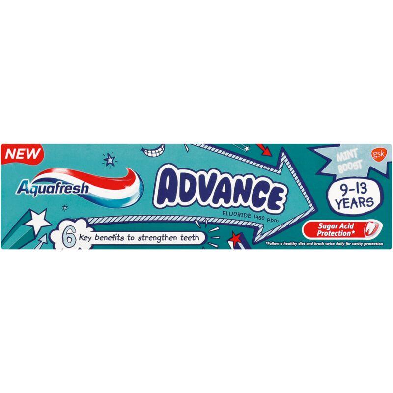AQUAFRESH TOOTHPASTE KIDS ADVANCE 9 -13YRS – 99ML