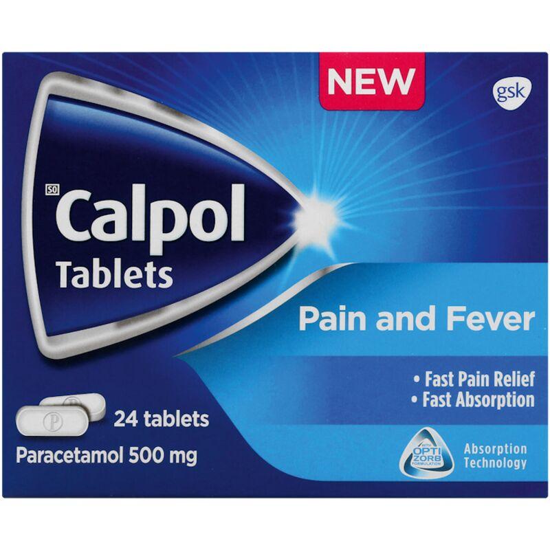 CALPOL PAIN RELIEF MEDICATION – 24S