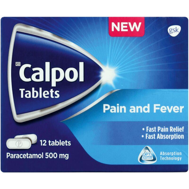 CALPOL PAIN RELIEF MEDICATION FASTMELT TABLET – 12S