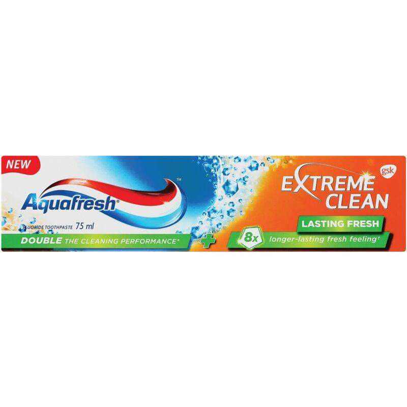 AQUAFRESH TOOTHPASTE EXTREME CLEAN LASTING FRESH – 75ML