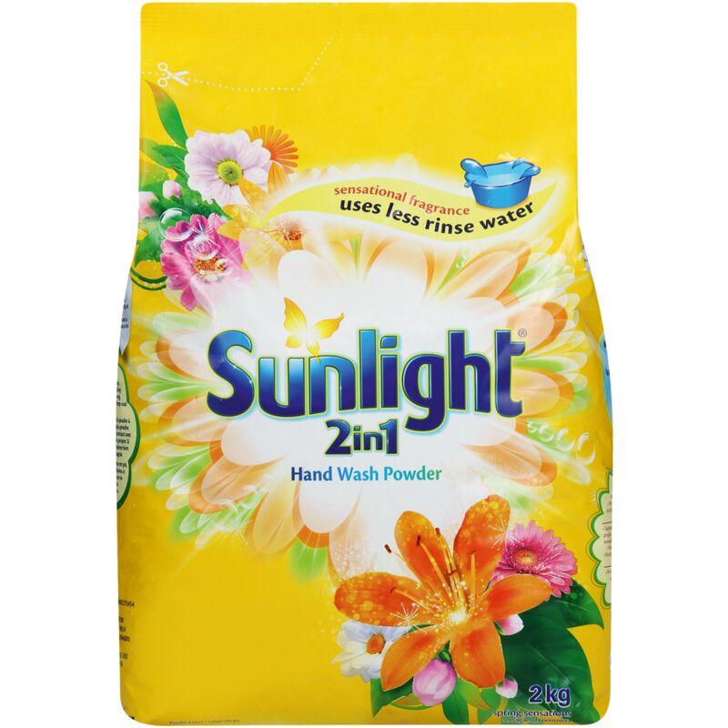 SUNLIGHT WASHING POWDER REGULAR – 2KG
