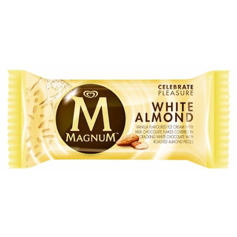 MAGNUM ICE CREAM WHITE ALMOND – 110ML