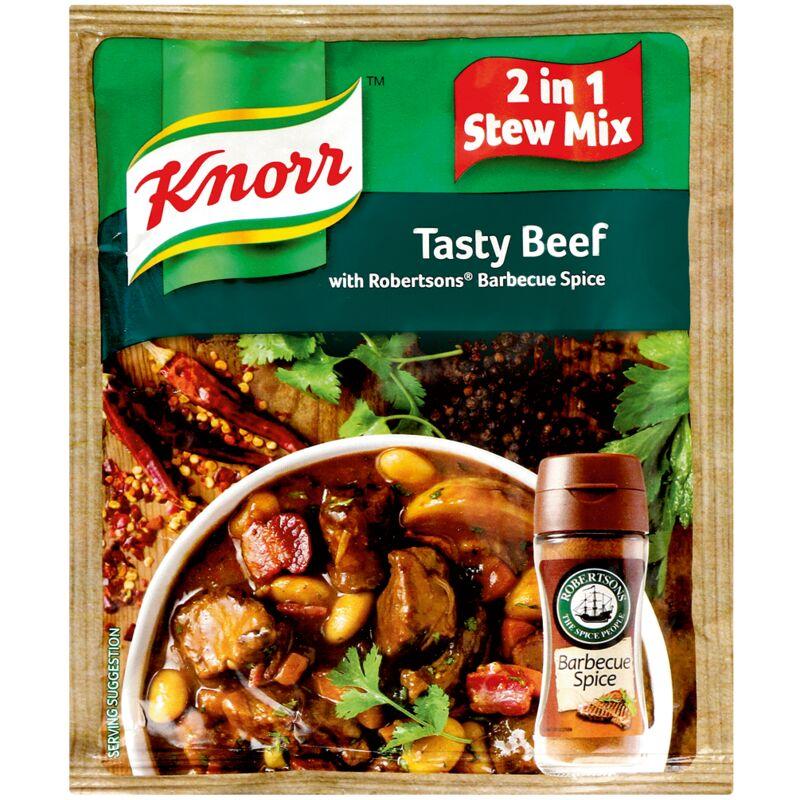 KNORR SOUP TASTY SMOKEY BEEF WITH BBQ SPICE – 50G