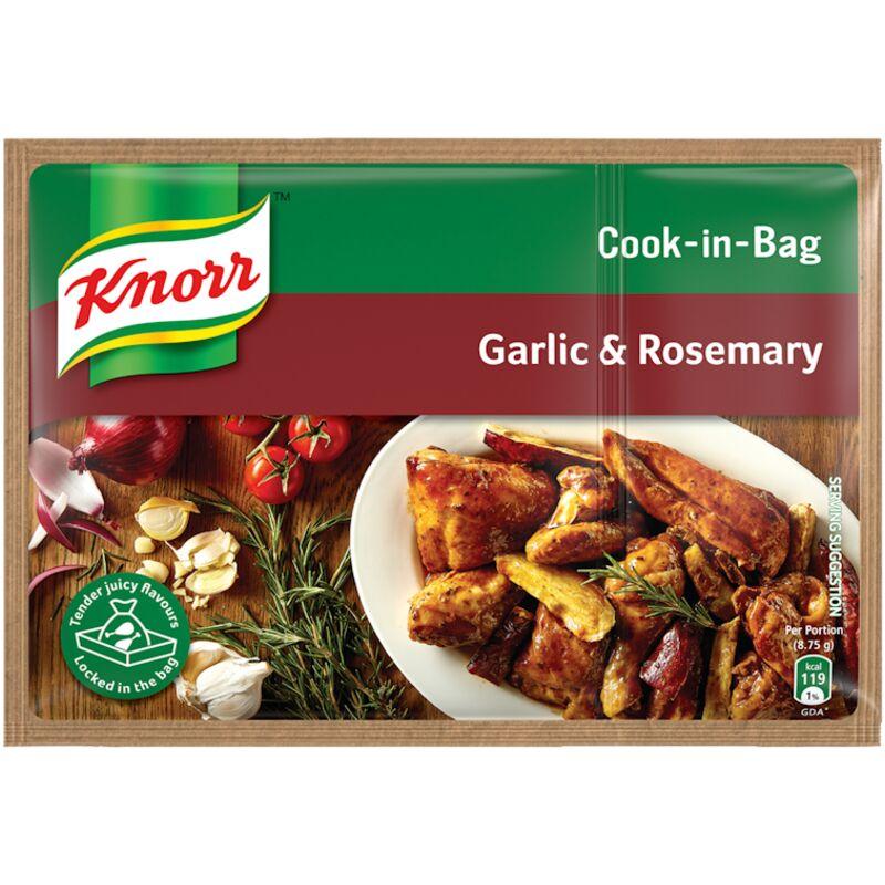 KNORR COOK IN BAG GARLIC & ROSEMARY – 35G