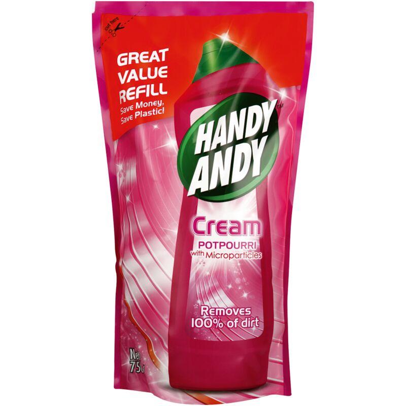 HANDY ANDY CREAM POTPOURRI POUCH REFILL – 750ML
