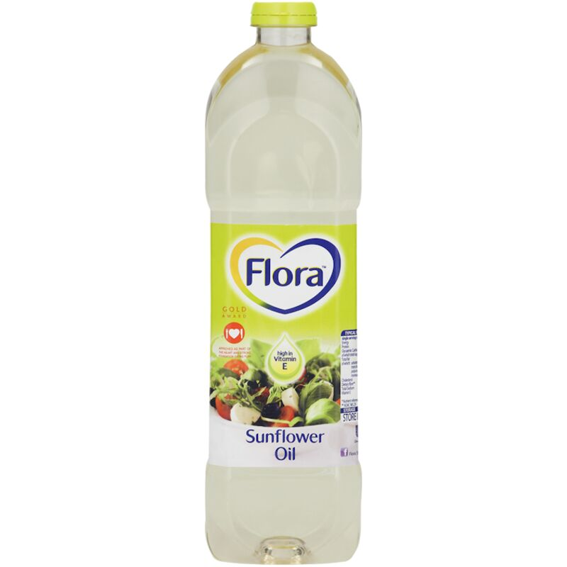 FLORA COOKING OIL POLY UNSATURATE – 750ML