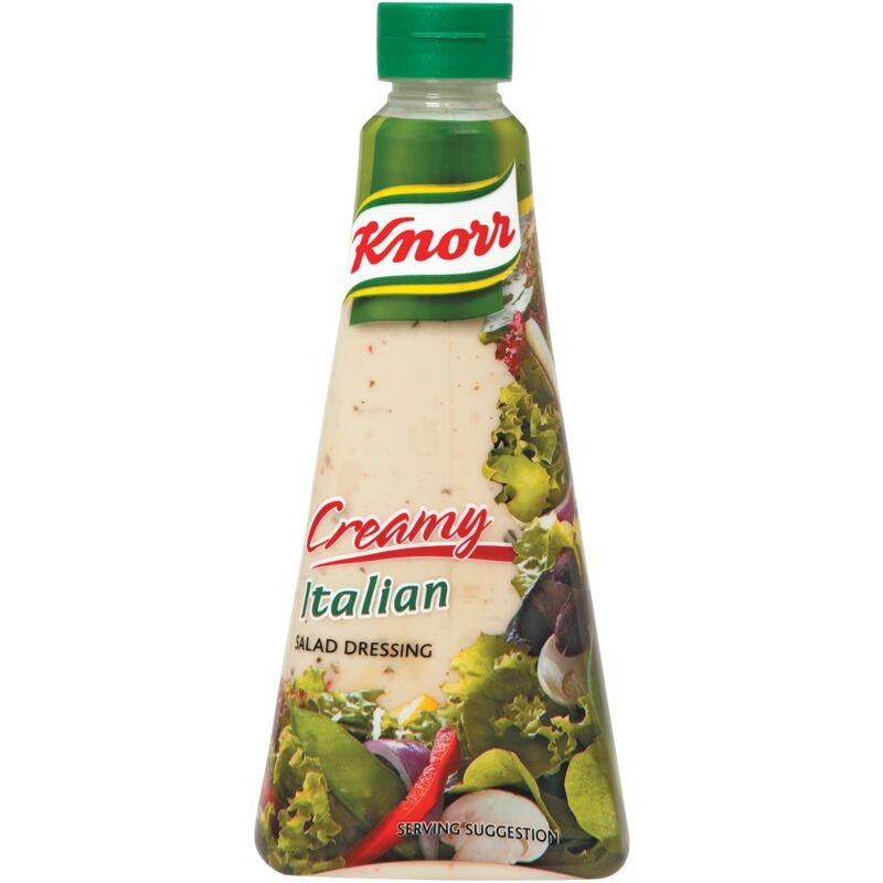 KNORR SALAD DRESSING CREAMY ITALIAN – 340ML