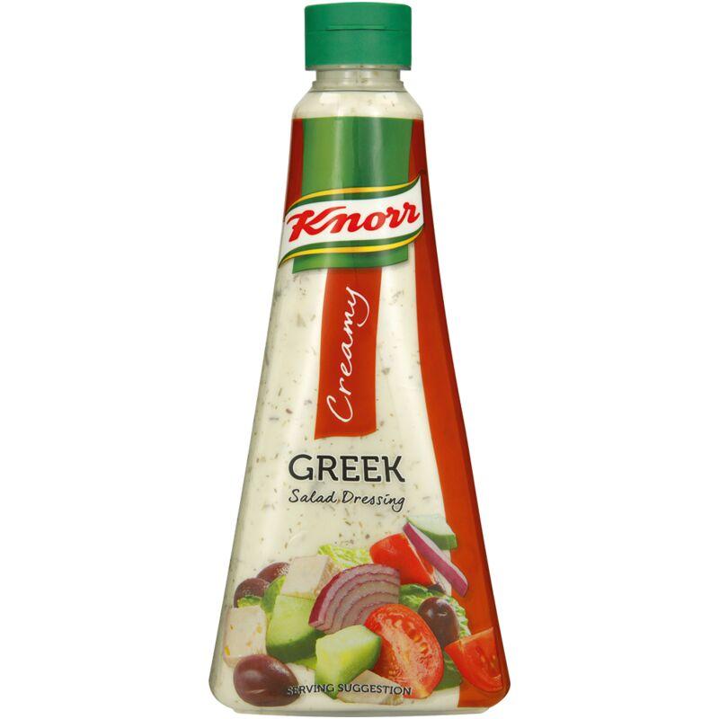 KNORR SALAD DRESSING CREAMY GREEK – 340ML