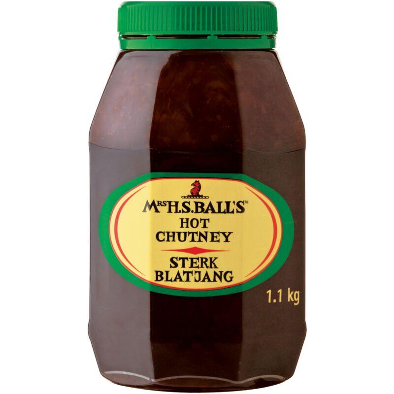 MRS BALLS CHUTNEY HOT – 1.1KG