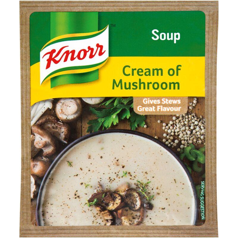 KNORR SOUP CREAM OF MUSHROOM – 50G