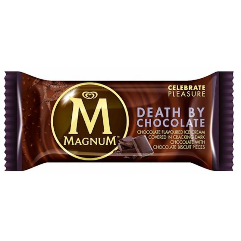 MAGNUM ICE CREAM DEATH BY CHOCOLATE – 110ML