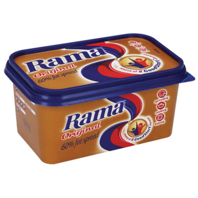 RAMA ORIGINAL 60% FULL SPREAD TUB – 500G