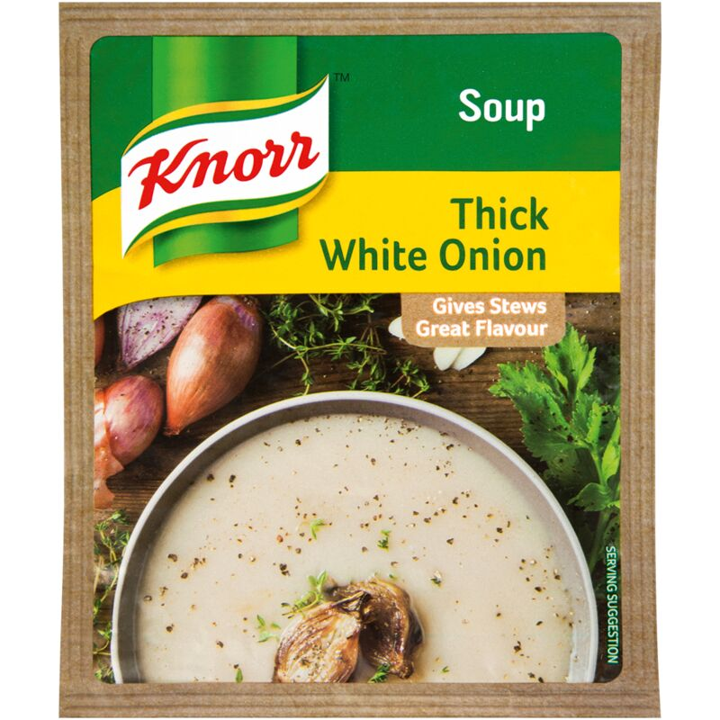 KNORR SOUP WHITE ONION – 50G