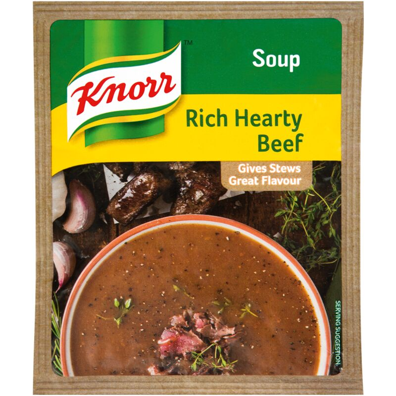 KNORR SOUP HEARTY BEEF – 50G