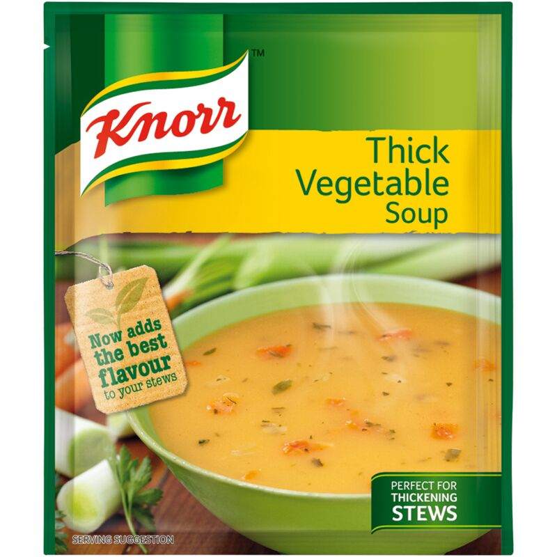 KNORR SOUP THICK VEGETABLE – 50G