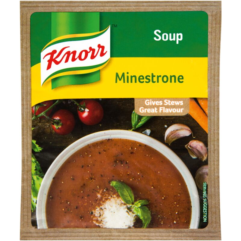 KNORR SOUP MINESTRONE – 50G