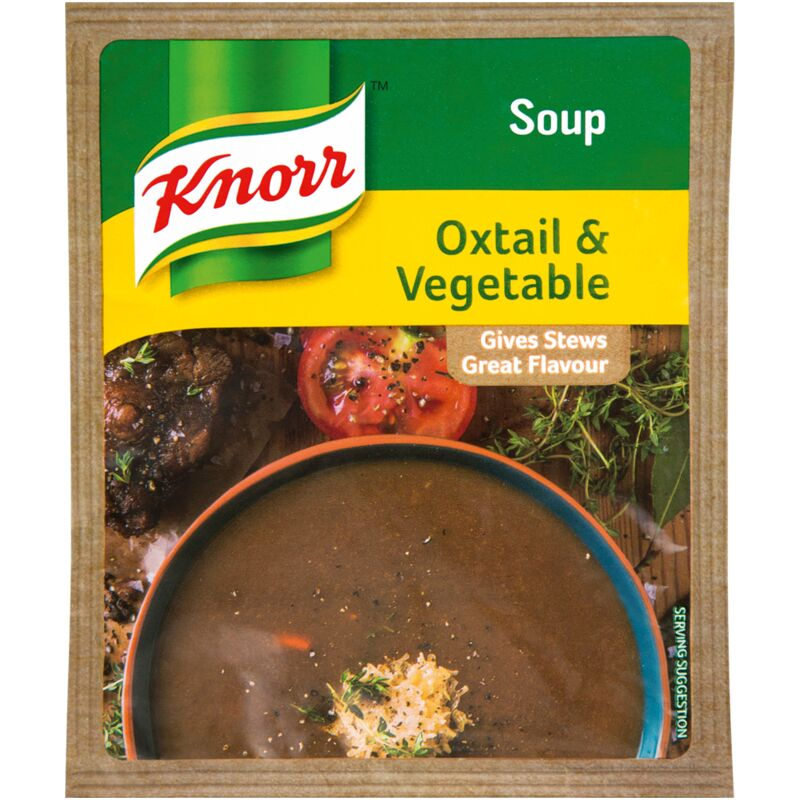 KNORR SOUP OXTAIL AND VEGETABLE – 50G